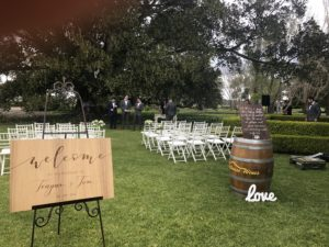 Terrara House Estate Wedding Ceremony